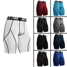 Men's Compression Shorts Pants Base Layer Skin Tights Ball Sports GYM Running