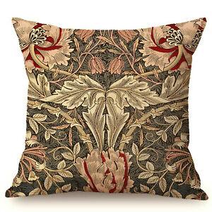 William Morris Arts & Crafts Kissenbezug Kissenhülle Baumwolle