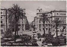PALERMO - PIAZZA G.CESARE - VIA ROMA 1956