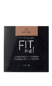 Maybelline Fit Me Loose Finishing Powder 2 PACK, 35 Deep