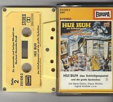HUI-BUH 5 und die große Spukschau - gelb/ gelbe Kassette - alte Auflage Europa