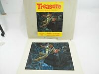 "Robert Caples Original Oil Painting ""Treasure"" Made Cover of Treasure Mag.9 x12"""