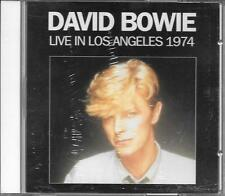 "DAVID BOWIE - RARO CD ITALY ONLY CELOPHANATO "" LIVE IN LOS ANGELES 1974 """