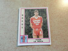 original FOOTBALL STICKER PANINI FOOT 80 1980 Yvon LE ROUX Rookie Card D1(Nr 57)