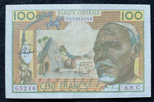 Equitorial African States 100 Francs Banknote (Congo) (1963) P# 3c TBB B201c