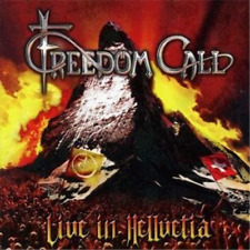 NEW* CD Album Freedom Call : Live in Hellvetia (Mini LP Style Card Case) 2CD Set