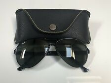 Vintage Ray Ban Cats Aviators B&L Sunglasses Bausch&Lomb USA G15 Black Frames