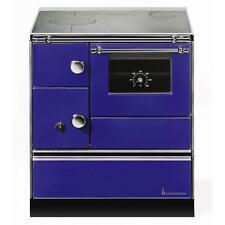 Küchenherd Westminster Wamsler K176 A 90cm blau Stahl Anschluss rechts