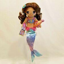 "FantaSea Friends Aquana Mermaid Doll Shelf Sitter by First & Main 18"" Plush Toy"