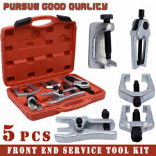 Pitman Arm/Ball Joint/Tie Rod Front End Service Tool Kit Puller Separator (5PCS)