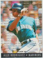 1995 Fleer Prospects #10 Alex Rodriguez rookie card, Seattle Mariners