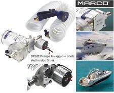MARCO DP9/E KIT POMPA ELETTRONICA 4 bar DOCCIA e LAVAGGIO 12V e 24V BARCA CAMPER