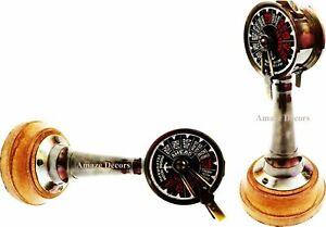 "6"" Maritime Nautical Brass Ship Telegraph Antique Ship's Engine Order Room"