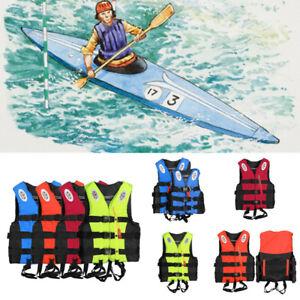 Adults Kids Life Jacket Kayak Ski Buoyancy Aid Vest Sailing Boating Watersport