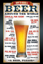 Beer How to Order Maxi Poster Print 61x91.5cm | 24x36 inches