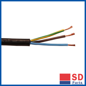 BRAND NEW - NYY-J Cable - 3 Core 2.5mm 0.6/1kV Black 100m - Free Postage
