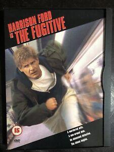 The Fugitive DVD Harrison Ford Region 2 Snap Case
