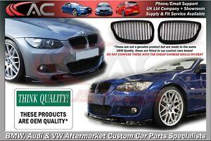 BMW E92 E93 M PERFORMANCE KIDNEY GRILLS GRILLES (2006-2010 MODELS) OEM QUALITY