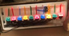 Vintage Carol Wright Gifts  Small Bubble Lights-Christmas Taiwan Working
