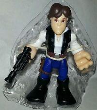 """Star Wars HAN SOLO 2.5"""" Action Figure Galactic Playskool Heroes Blue pants"""