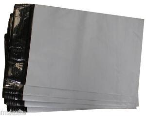 #6 Poly Mailer 400x525mm Bag Courier Plastic Satchel Self Seal x 100pcs