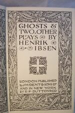 GHOSTS OTHER PLAYS HENRIK IBSEN POETRY DRAMA OLD BOOK