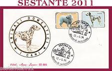 ITALIA FDC ROMA LUXOR ANIMALI DOMESTICI I CANI 1994 ANNULLO ANCONA G929