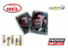 EVO 4 5 & 6 HEL conduite de frein Kit-Kit de lignes tressées avec raccords en acier inoxydable