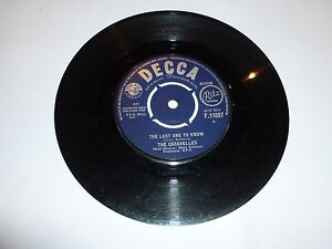 """THE CARAVELLES - You Don't Have To Be A Baby To Cry - 1963 UK 7"""" vinyl single"""