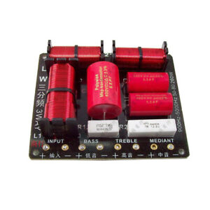Three-way divider professional frequency divider advanced advanced crossover