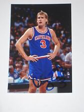Cleveland Cavaliers CRAIG EHLO Signed 4x6 Photo CAVS NBA AUTOGRAPH 1C