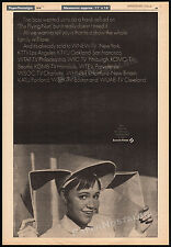 THE FLYING NUN__Original 1970 Trade Print AD / TV promo / poster__SALLY FIELD
