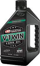 1 Maxima V-Twin Fork Oil Fluid 10wt 32 oz 10w 32oz Harley Davidson Hd H-D