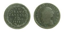 pci2928) Napoli Regno  Ferdinando IV di Borbone - 12 Cavalli 1791