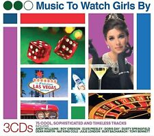Music To Watch The Girls By (Job Lot x 25) BRAND NEW SEALED  WHOLESALE 3CD