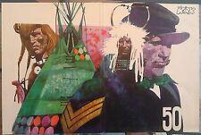 copertina originale ad uso poster SERGENTE KIRK 50 ivaldi SERGIO TOPPI SGT