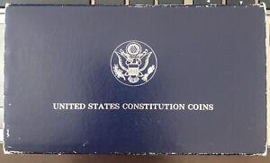 1987-S U.S. Constitution Commemorative Coin Proof Silver Dollar
