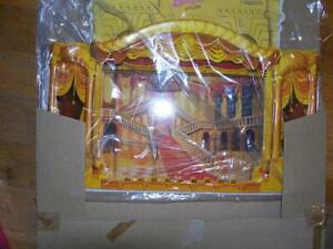 Enesco Little Theater Backdrop - NRFB - EX condition!