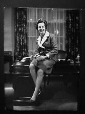 """Barbara Castle MP Labour Blackburn- Original 1970's Press Agency Photo 8 x 6"""" 2"""