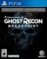 Tom Clancy's Ghost Recon Breakpoint Ultimate Steelbook Edition / Playstation 4