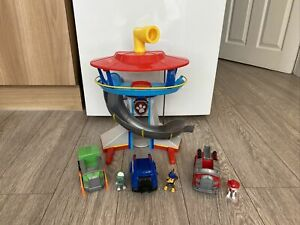 Paw Patrol Tower Pups And Vehicles Bundle
