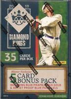 2019 Panini Diamond Kings Baseball Blaster Box 6 Packs + Bonus Pack sealed
