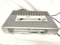 Grundig CF 7100 vintage Kassettendeck Kassettenplayer + Anleitung