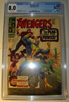 Avengers #42 CGC 8.0, VF, Off-White pages,1967,Hercules,Black Widow & Dragon Man