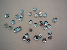 Bridal Wedding Silver Hologram Round Cupped Sequins 6mm approx1700 per pack 20g