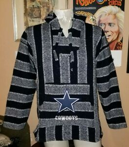 Mexican NFL Dallas COWBOYS Baja hoodie pullover sweater size M