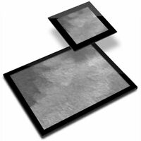 Glass Placemat  & Coaster BW - Watercolour Painting  #35206