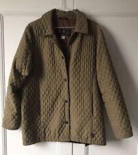 WOMENS BARBOUR JACKET UK10 EUR36 VINTAGE GREEN CLASSIC COAT
