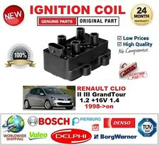 FOR RENAULT CLIO II III GrandTour 1.2 +16V 1.4 1998-> IGNITION COIL 4PIN TYPE M4