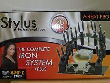 Heat Pro Stylus 20 PCS Professional Iron System With Stove #3006